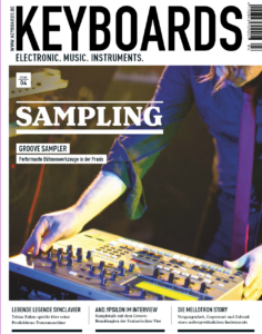 Klaus Fischer AUDIOS in keyboards sampling magazine